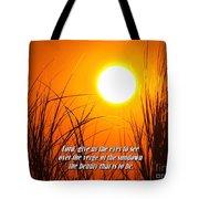 Sundown Beauty Tote Bag