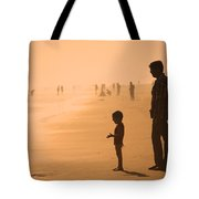 Sundown By The Bay Of Bengal Tote Bag