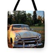 Sundown Chevy Tote Bag