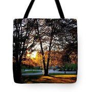 Sundown In Stanley Park Tote Bag