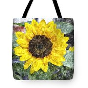 Sunflower 4 Sf4wc Tote Bag