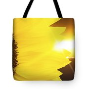 Sunflower And Sunset Tote Bag