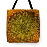 Sunflower Center Tote Bag