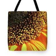 Sunflower Edge Tote Bag