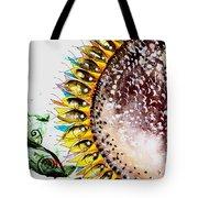 Sunflower Fish 3 Tote Bag
