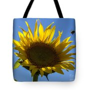 Sunflower For Snack Tote Bag