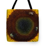 Sunflower Gathering Tote Bag