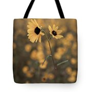 Sunflower In The Wild Tote Bag