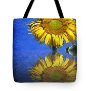 Sunflower Reflection Tote Bag