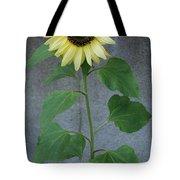 Sunflower Stalk  Tote Bag