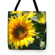 Sunflower Visitor Tote Bag