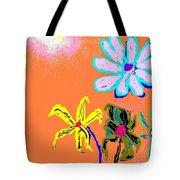 Sunflowered 3 Tote Bag