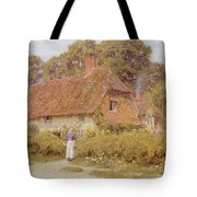 Sunflowers By Helen Allingham Tote Bag