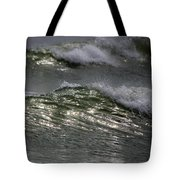 Sunlight And Waves 1 Tote Bag