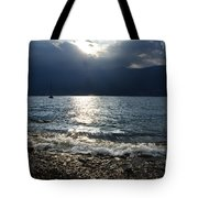 Sunlight And Waves Tote Bag
