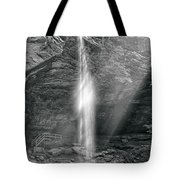 Sunlight Falls Tote Bag