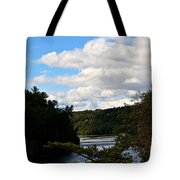 Sunny Around The Bend Tote Bag