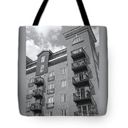 Sunny Black And White Day Tote Bag