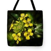 Sunny Floret Tote Bag