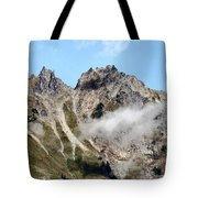 Sunny Mountain Afternoon Tote Bag