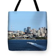 Sunny Seattle Tote Bag