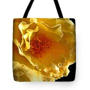 Sun Rays On The Yellow Petals Tote Bag