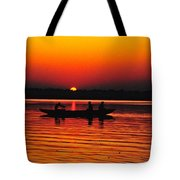 Sunrise At Indian Sea  Tote Bag