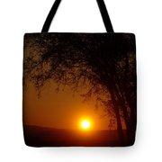 Sunrise At Maryhille  Tote Bag