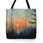 Sunrise At Pike Road Tote Bag