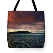 Sunrise At Portlock Tote Bag