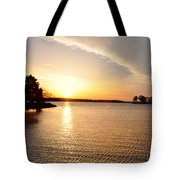 Sunrise At St Michaels Tote Bag