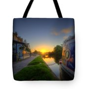 Sunrise At The Boat Inn Tote Bag