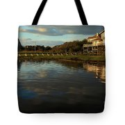 Sunrise At The Shore Tote Bag
