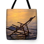 Sunrise Beach Lounging Tote Bag