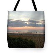 Sunrise Colors Of Maine Tote Bag