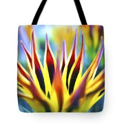Sunrise Flower Tote Bag