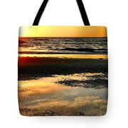 Sunrise In Jekyll Island Tote Bag