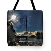 Sunrise Moon Dance Tote Bag