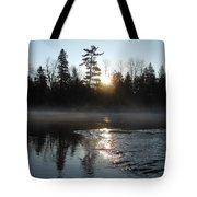 Sunrise On Ice Tote Bag