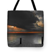 Sunrise On Key Islamorada Tote Bag