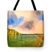 Sunrise On Lake Powell Tote Bag