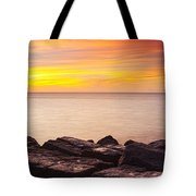 Sunrise On The Jetty Texas Tote Bag
