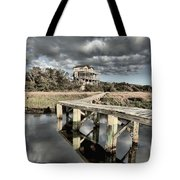 Sunrise On The Sound Tote Bag