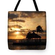 Sunrise Over Bay Tote Bag