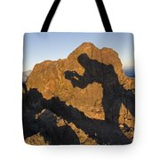 Sunrise Over Death Valley From Dantes Tote Bag