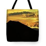Sunrise Over Maui Tote Bag