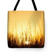 Sunrise Over Nachusa Grasslands Tote Bag