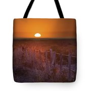 Sunrise Over The Pampa Of Argentina San Tote Bag