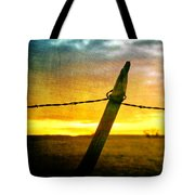 Sunrise Over The Prairie Tote Bag