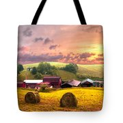 Sunrise Pastures Tote Bag